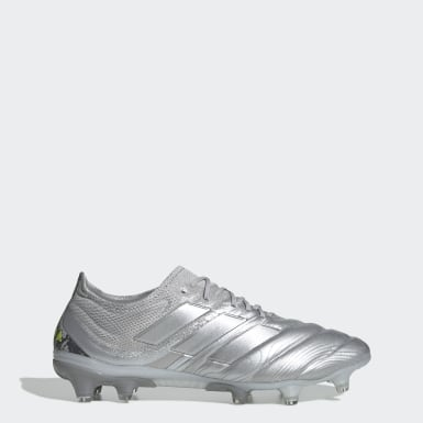 Women Football Silver Copa 20.1 Firm Ground Boots