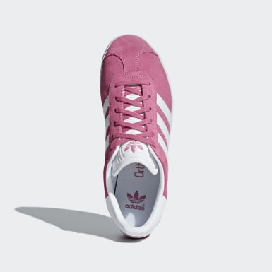 Youth 8-16 Years Originals Pink Gazelle Shoes