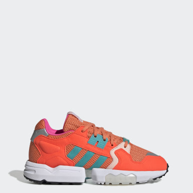 Women Originals Orange ZX Torsion Shoes