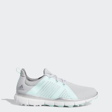 Women Golf Grey Climacool Cage Shoes