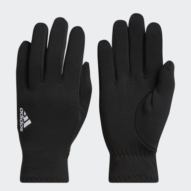 Women's Running Black Effra Gloves