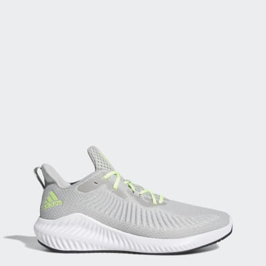 Men Running Grey Alphabounce+ Shoes