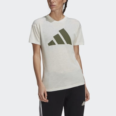 Women's Athletics Beige adidas Sportswear Winners 2.0 Tee
