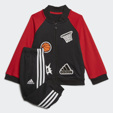 Kids Training Black Collegiate Tracksuit