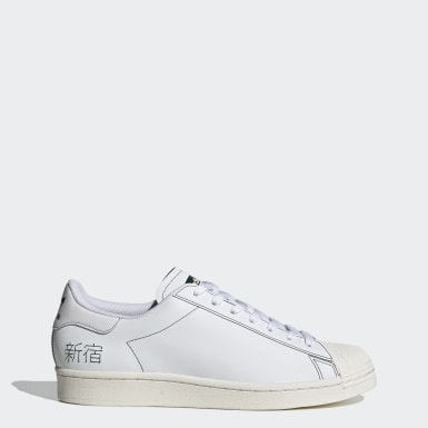 Sapatos Superstar Pure Branco Originals