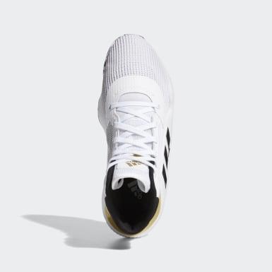 Heren Basketbal Wit Pro Bounce 2019 Schoenen