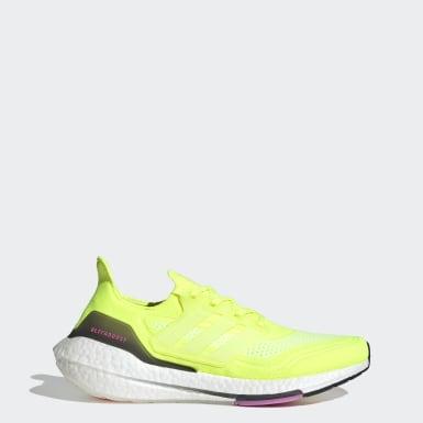 ULTRABOOST 21 Amarelo Homem Running