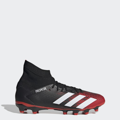 Football Black Predator 20.3 Multi-Ground Boots