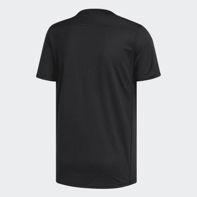 Erkek Koşu Siyah Own the Run Tişört