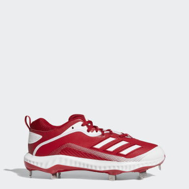 Men's Baseball Red Icon 6 Bounce Cleats