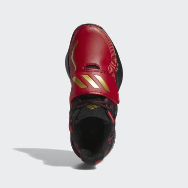 Kinderen Basketbal Rood Pro Spark 2.0 Schoenen