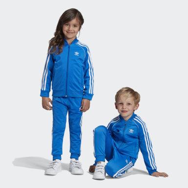 Conjunto de Chaqueta y Pantalón SST Azul Niño Originals