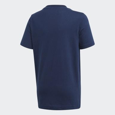 T-shirt adidas Athletics Club Graphic Blu Ragazzo Training