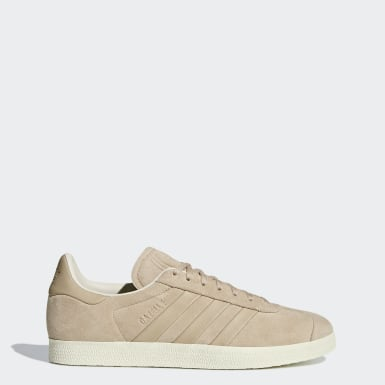 Tenis Gazelle Stitch-and-Turn Beige Hombre Originals