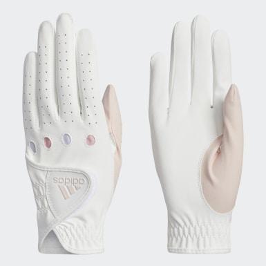 ผู้หญิง กอล์ฟ สีขาว ถุงมือ L-C