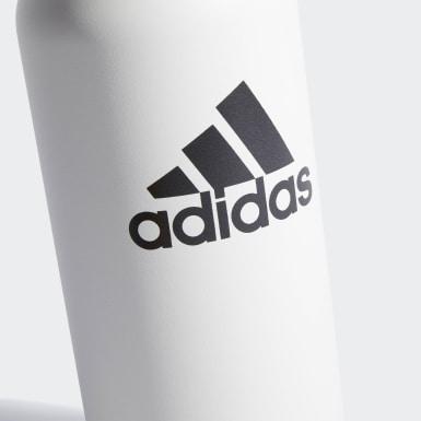 Training White Steel Bottle 1 L
