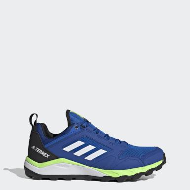 Tenis de Trail Running Terrex Agravic Azul Hombre adidas TERREX