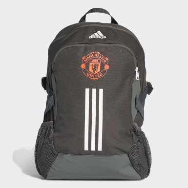 Football Green Manchester United Backpack