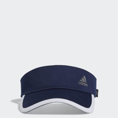 ผู้หญิง กอล์ฟ สีน้ำเงิน หมวกไวเซอร์ Silver Logo