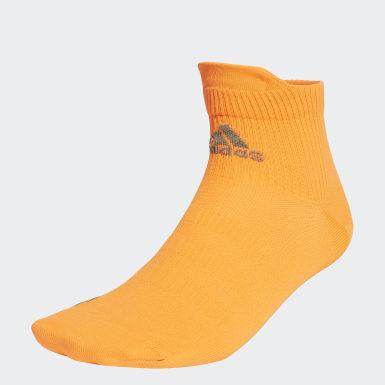 Training Orange Techfit Ankle Socks