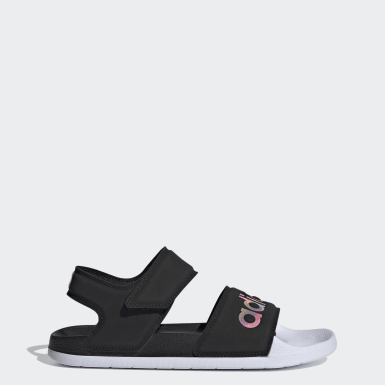Women's Swim Black Adilette Sandals