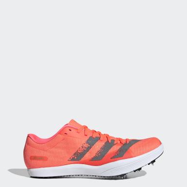 Chaussure d'athlétisme Adizero Saut en longueur Rose Athlétisme