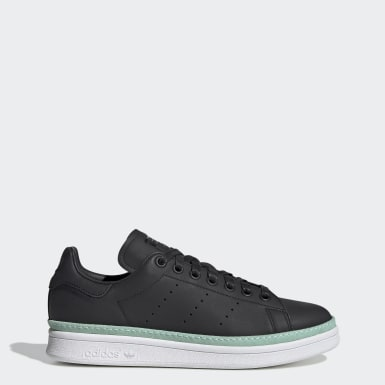 Tenis Stan Smith New Bold Negro Mujer Originals