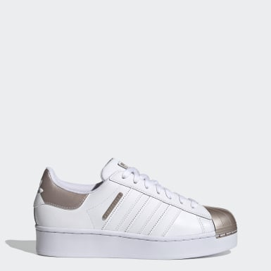 Women Originals White Superstar Bold MT Shoes