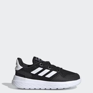 Infants Sport Inspired Black Archivo Shoes