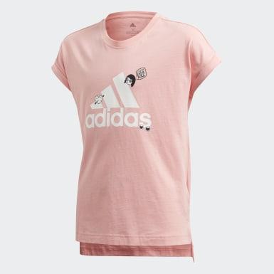T-shirt Collegiate Rosa Bambini Training