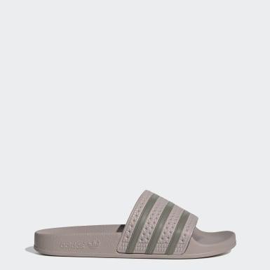 Kvinder Originals Grå Adilette sandaler