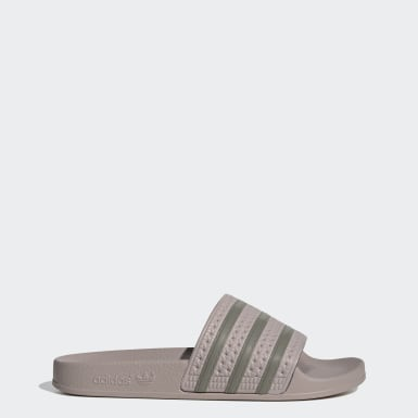 Women Originals Grey Adilette Slides