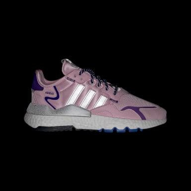 Women Originals Pink Nite Jogger Shoes