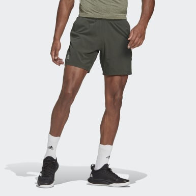 SHORT ERGO TENNIS AEROREADY Verde Uomo Tennis