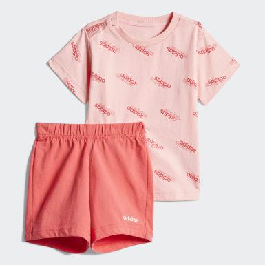 Bebek Sport Inspired Pink Favorites Eşofman Takımı