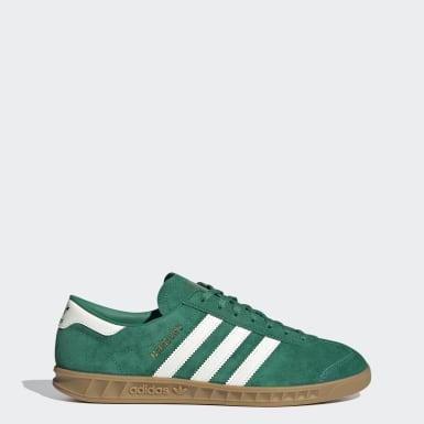 Originals Grøn Hamburg sko