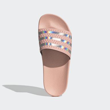 Ženy Originals růžová Pantofle Adilette