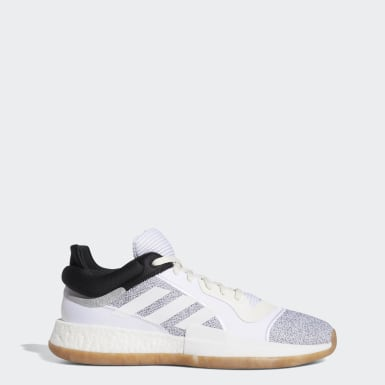 Men's Basketball Beige Marquee Boost Low Shoes