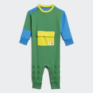 Kinder Training adidas x LEGO DUPLO Einteiler Grün