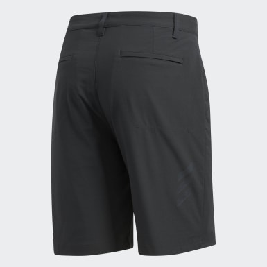 Men's Golf Grey Adicross Beyond18 Five-Pocket Shorts