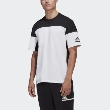 Heren Athletics wit adidas Z.N.E. T-shirt
