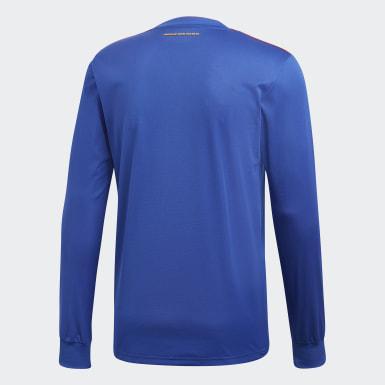 Maillot Colombie Extérieur Bleu Hommes Football