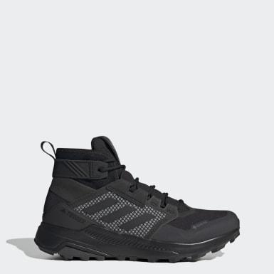 Men TERREX Black Terrex Trailmaker Mid GTX Hiking Shoes