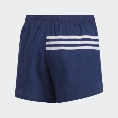 Youth Training Red Patriotic Shorts