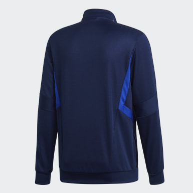 Men's Soccer Blue Tiro 19 Training Jacket
