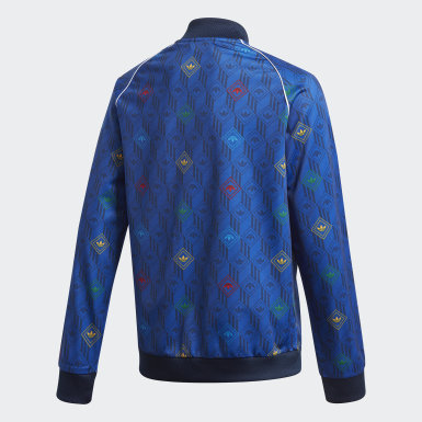 Youth Originals Blue SST Track Top