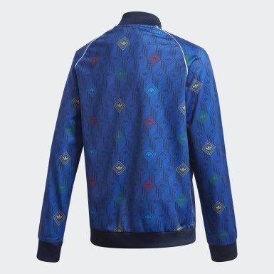 Børn Originals Blå SST trøje