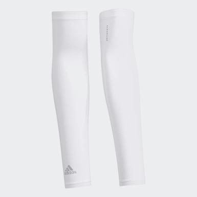 Men Golf White AEROREADY UV Arm Sleeve