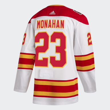 Hockey Multicolor Flames Monahan Heritage Classic Authentic Pro Jersey