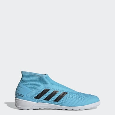 Men Football Turquoise Predator 19.3 Indoor Boots